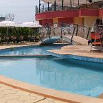 Pool side and bar