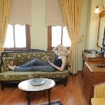 Sofa in 202 Standard Room