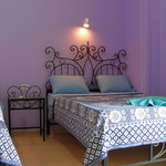 Rooms are Spacious (fits a double bed and a single bed),
