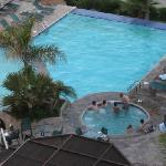 Pool and Jacuzzi at Coral and Marina