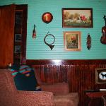 The TV room - we never wanted to turn it on!