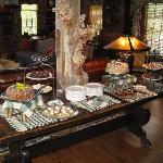 Sunday brunch dessert buffet!