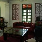 inside colonial house