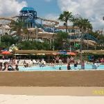 Wave pool & rides