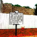Tom Sawyer's House(sign)