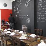 Shiado Kitchen - breakfast area