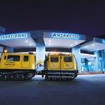 International Antarctic Centre at Night