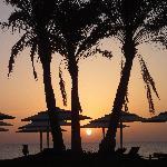 Sonnenaufgang - wunderschön wir überall in Aegypten