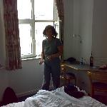 kleines aber feines Zimmer m. Blick in den Hinterhof