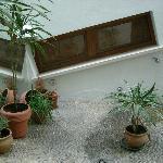 il patio interno 1