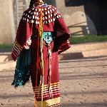She dances in Grandmother's moccasins