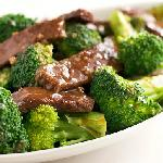So succulent: The Beef and Broccoli dish