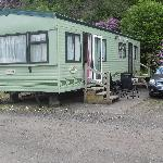 A luxury caravan that we have stayed at.
