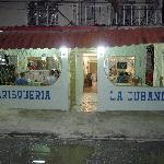 Front of La Cubanita