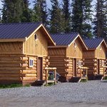 Beautiful log cabins