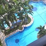 Piscina del Hotel Vista desde mi habitacion