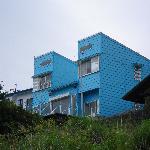Beautiful blue ocean home