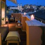Penthouse suite Trinità dei Monti - Terrace