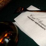 casa armas table napkin :P
