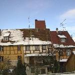 Obernai im Schnee