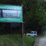 Access from the BR 101 (Rio-Santos)
