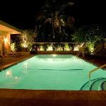 Night Poolside