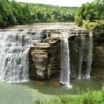 Located at the north entrance of Letchworth State Park