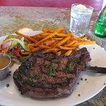 Their ribeye steak.