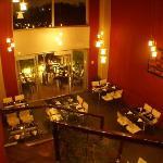 restaurante de adentro