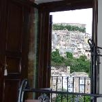 The view over Ibla without standing up from your bed