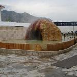 piscine thermale extérieure