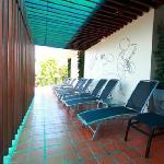 sun deck area