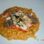 Risotto with Truffles and Lobster