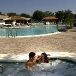 Relax in our heated pools