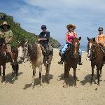 Family ride w/ Tropical Trail Rides