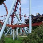 one of the rides at Portaventura
