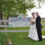 Just Married at Galena Cellars Vineyard~May 15, 2010
