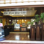 """The """"Front page cafe"""" at the lobby"""