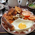 Full English breakfast - regular size