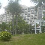 Hotelrückseite