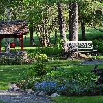 Lovely gardens - 10 acres in all