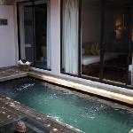Pool inside the Villa