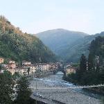 Bagni di Lucca along river