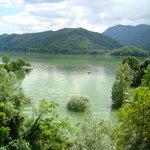 Lago del Salto: vista dal ristorante