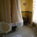 Lane Room's clawfoot tub