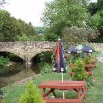 The Riverside Inn garden