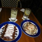 our crepes & vodka tonic