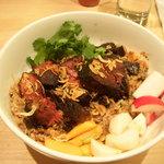 Rice bowl at Momofuku