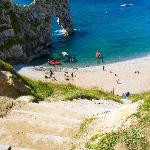 Durdle Door, short walk from Graybank B&B