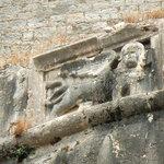 lion de venise à Corfou ville